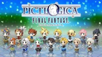 Square Enix Announces Pictlogica: Final Fantasy for 3DS