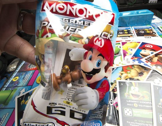 Hasbro Unveils New Mario-Themed Monopoly Board Game