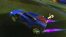 Rocket League Gets New Rick and Morty Items in Anniversary Update