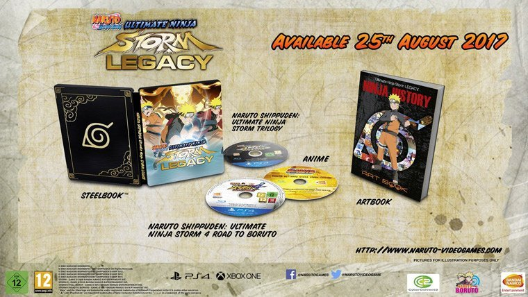 Bandai Announced Naruto Shippuden: Ultimate Ninja Storm Legacy & Trilogy