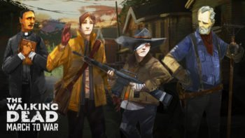 First Look at Mobile Game The Walking Dead: March to War