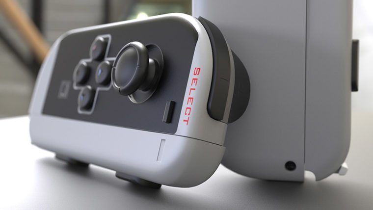 You need this awesome retro NES style controller for your Nintendo Switch
