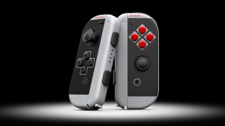 Nintendo Switch Joy-Cons go retro with this NES-inspired paint job