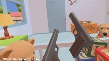 Upcoming VR Game Satirizes NRA's Gun Fetishism