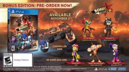Sonic Forces Release Date Announced, Pre-Orders Available