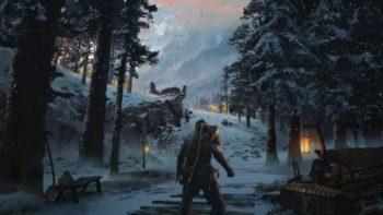 PlayStation Twitter Shares Some God Of War Concept Artwork