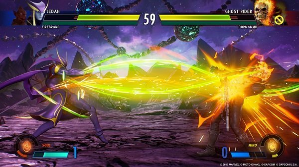 Jedah's going to be the coolest in Marvel vs. Capcom: Infinite