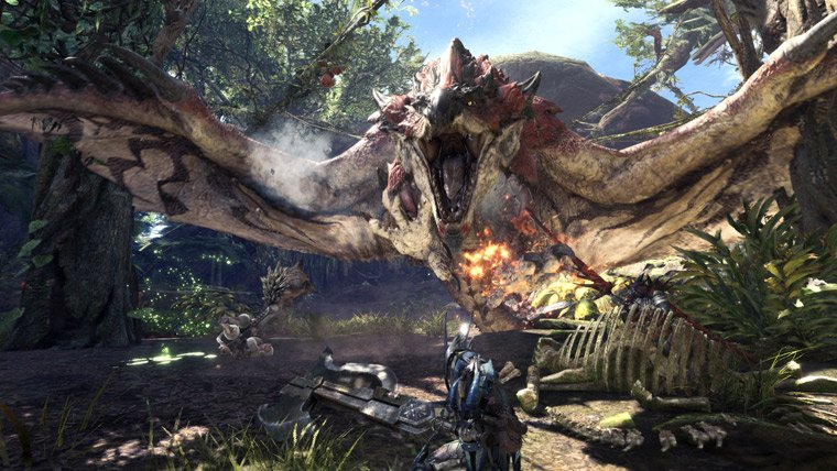 First Look at Wildspire Waste in the upcoming Monster Hunter