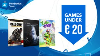 New Games Under €20 Sale on EU PS Store