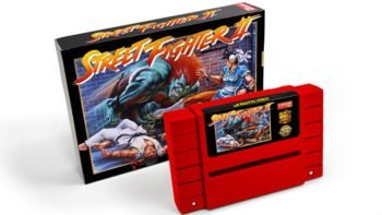 Capcom Announces a Re-Issue of the Street Fighter II SNES Cartridge