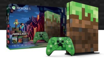 Xbox One S Minecraft Limited Edition Announced