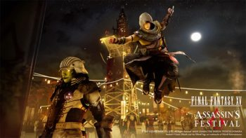 Assassin's Creed Origins and Final Fantasy XV Announce Collaboration