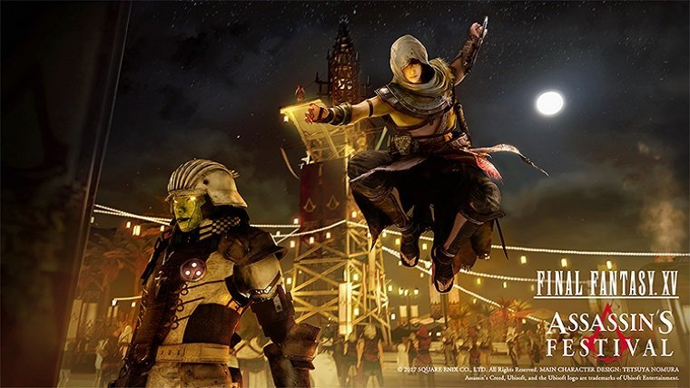 Assassin's Creed and Final Fantasy Get Collaborative