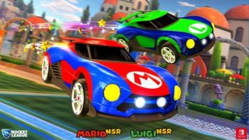 Rocket League Gets Exclusive Mario and Metroid Cars for Switch
