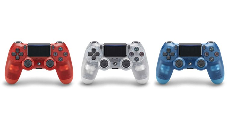 Sony Reveals New Translucent Line of DualShock 4 Controllers, Pre-Orders Live