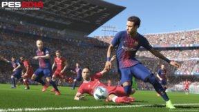 Pro Evolution Soccer 2018 Debuts at Number 1 in Japan