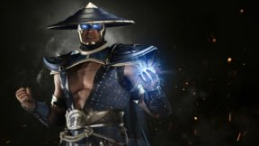 Injustice 2 Presents Raiden in Battle