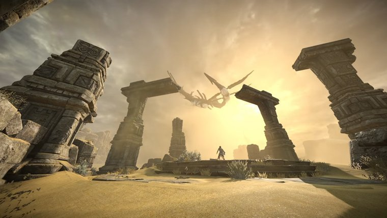 Shadow of the Colossus remake gets a TGS trailer
