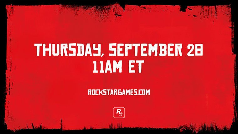Rockstar teases Red Dead Redemption news next Thursday, mark your calendars