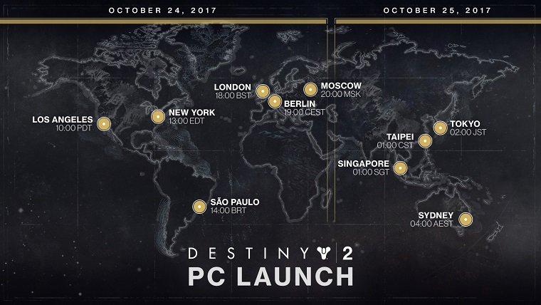 Destiny 2 PC Launch