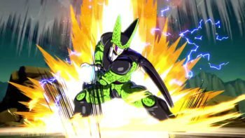 Legendary Villain Cell Joining Dragon Ball FighterZ