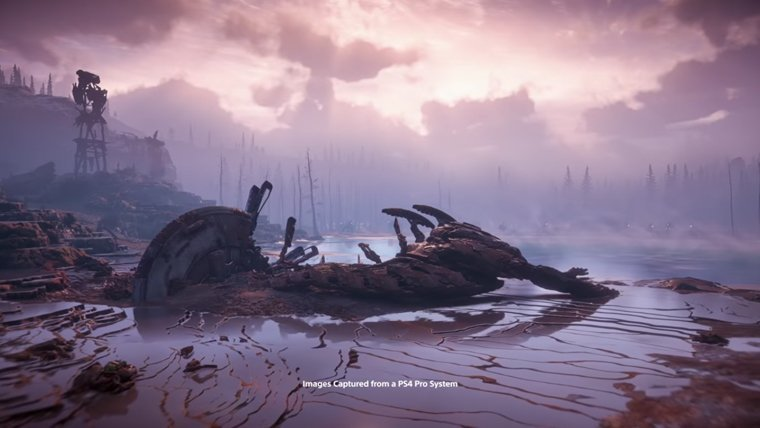 Horizon: Zero Dawn's Latest Trailer Brings On The Frozen Wilds