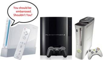 Should Microsoft & Sony Be Embarrassed?
