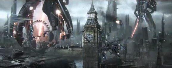 Mass Effect 3 Trailer Shows Earth Under Attack News Xbox  Mass Effect 3 Bioware