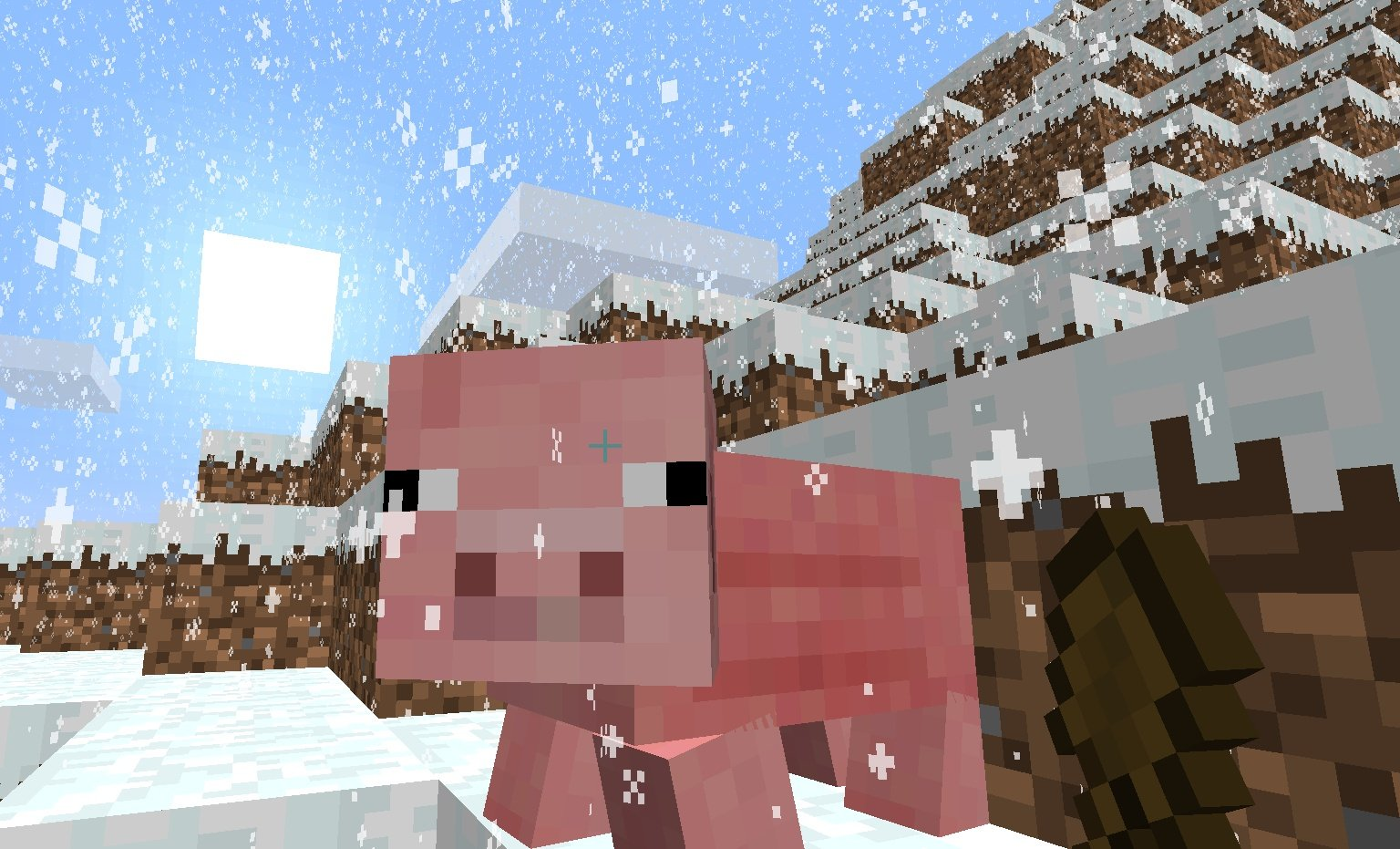 Minecraft-Diary-Snow-Pig