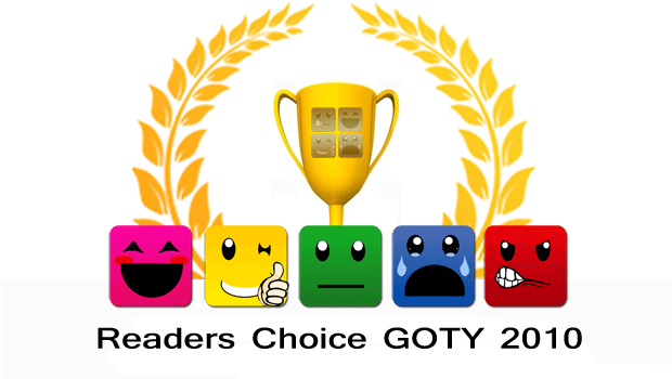 Reader's Choice Game of the Year Nominations News Xbox  Xbox 360 WII PC GAMES GOTY DS