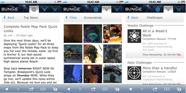 Bungie Mobile Coming Soon