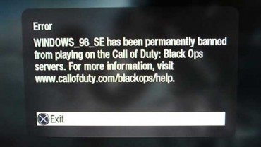 More Cheaters Banned From Call of Duty Black Ops on PS3