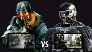 Killzone 3 Vs. Crysis 2 MP Gameplay Comparison
