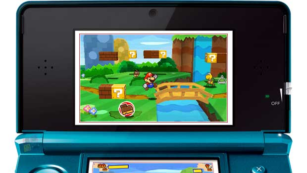 New Paper Mario 3DS Gameplay Details News  Nintendo 3DS