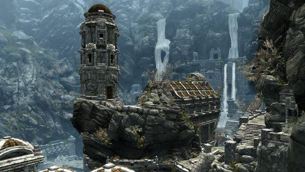 Elder Scrolls V Skyrim Battle Sequence Comes to Life News Xbox  Skyrim