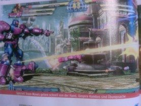 Sentinel Images Leaked for Marvel Vs Capcom 3