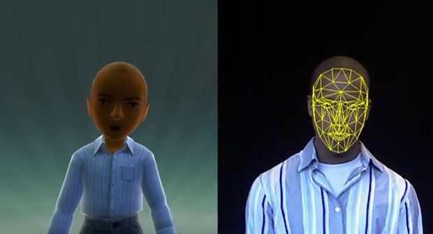 kinect_face_map