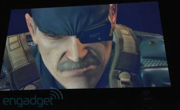 Metal Gear Solid on NGP(PSP2) is as good as PS3 News  Metal Gear Solid Kojima
