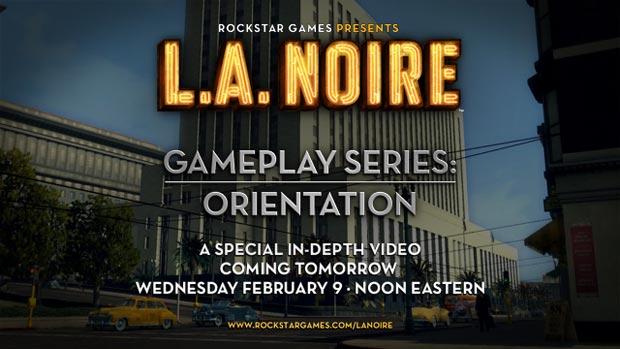 First Gameplay for LA Noire Arrives News Xbox  LA Noire
