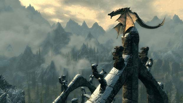 Elder Scrolls V Skyrim Dragon Shouts The Collectible Powers News Xbox  Skyrim