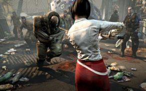 In game screenshots for Dead Island