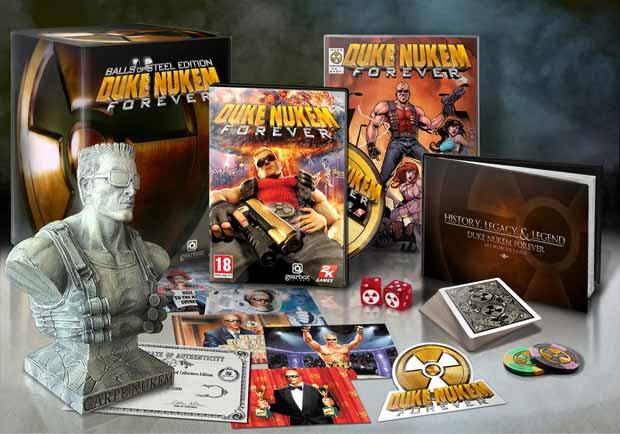Duke Nukem Forever Balls of Steel Edition Announced News Xbox  Duke Nukem Forever