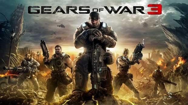 Gears of War 3 Box Art Revealed News Screenshots Xbox  Gears of War 3