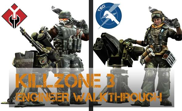Killzone 3 Engineer Class Guide News  Killzone 3