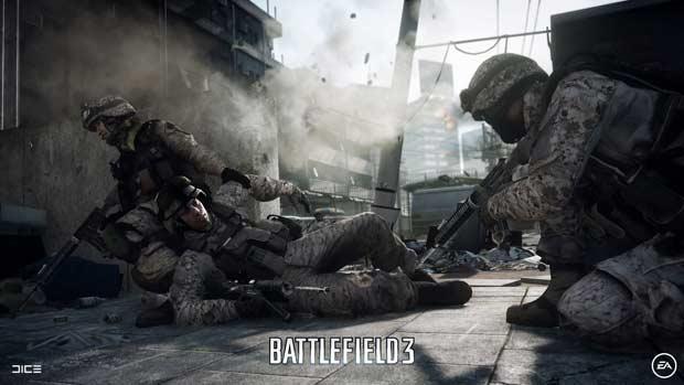 New Battlefield 3 Hi-Resolution Wallpapers
