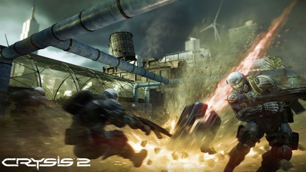 Crysis 2 Multiplayer Progression for Weapons
