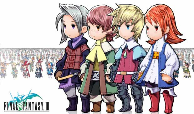 Final Fantasy III Available on iOS Today Mobile News