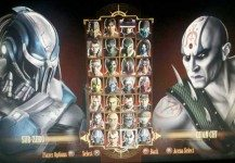 Leaked Mortal Kombat Character Selection Screen