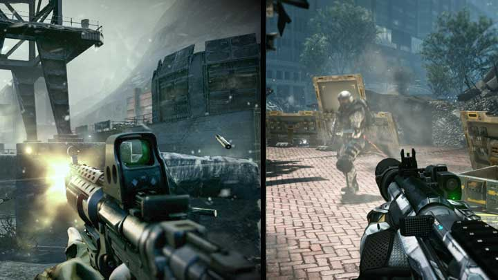 Killzone 3 Vs Crysis 2 Video Comparison