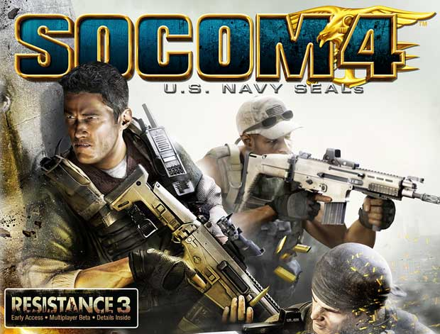 Resistance 3 Beta Included with SOCOM 4